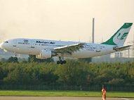مزاحمت جنگندههای ناشناس برای هواپیمای مسافربری ایران بر فراز سوریه