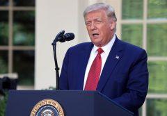 رنگ موهای ترامپ عوض شد!