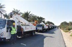 عملیات جهادی تعمیر و بهینهسازی ۴۰ کیلومتر شبکه برق روستایی در شادگان