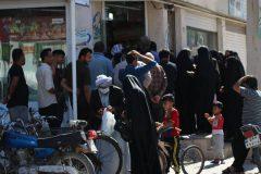 صف خرید روغن نباتی در شهر ملاثانی