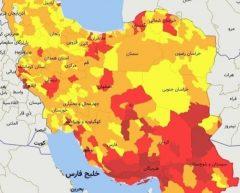 سه شهرستان خوزستان در وضعیت قرمز کرونایی قرار گرفتند